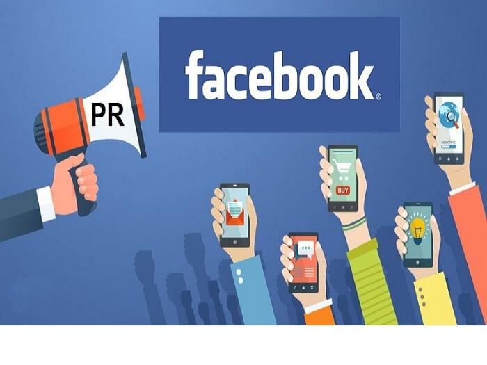 PR trên Facebook ngày nay khá phổ biến